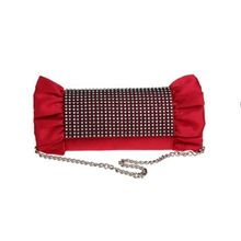 Glam Cham - Silk Embellished Clutch