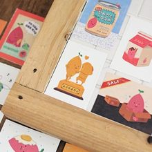 Full House - Rectangle Deco Sticker 48pcs