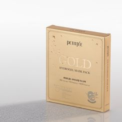 PETITFEE - Gold Hydrogel Mask Pack 5pcs