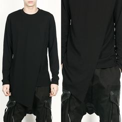 Rememberclick - Asymmetric-Hem T-Shirt