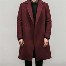 STYLEMAN - Hidden-Button Long Coat
