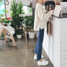 mimi&didi - Drop-Shoulder Knit Top