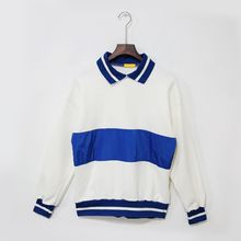 Mr. Cai - Color-Block Panel Pullover