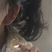Nocturne - Round Single Earring