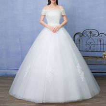 Shannair - Off Shoulder Wedding Ball Gown