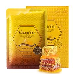 Hope Girl - True Island Honey Bee Royal Propolis Nutri Sheet Mask 10pcs