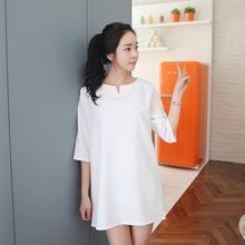 Envy Look - Elbow-Sleeve Mini Shift Dress