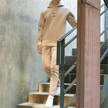 STYLEMAN - Set: Neoprene Hoodie + Neoprene Sweat Pants