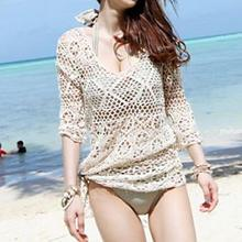 Sunset Hours - Crochet Knit Beach Cover-Up