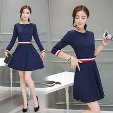 EFO - Long-Sleeve A-Line Dress