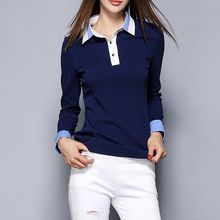 Merald - Panel Fleece-lined Collared Top