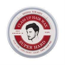 Missha - For Men Class Up Hair Wax (Super Hard)