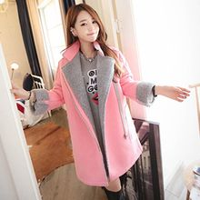 Lovebirds - Fleece-Lined Zip Coat