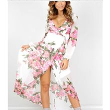 Fundae - Floral Print Chiffon Dress