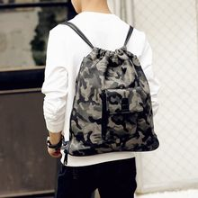 ETONWEAG - Camo Drawstring Backpack