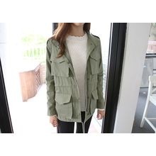 Hello sweety - Flap-Pocket Front Parka