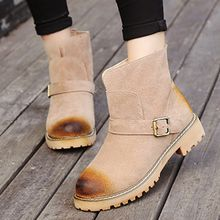 Pixie Pair - Faux Suede Short Boots