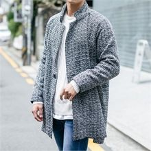 STYLEMAN - Single-Breast Knit Coat