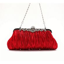 Glam Cham - Pleated Clutch