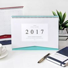 iswas - 'The Basic' Series 2017 Desk Planner