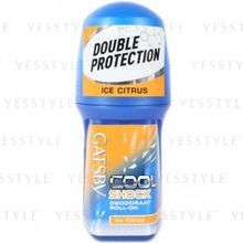 Mandom - Gatsby Cool Shock Deodorant Roll-On (Ice Citrus)