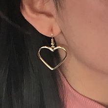 Nocturne - Single Heart Earring