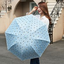 Petrichor - Bow Print Compact Umbrella