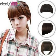 Aura Wigs - Clip-On Hair Fringe - Straight