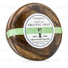 MURDOCK - Cedarwood and Peppermint Saving Soap Presented In A Wooden Bowl