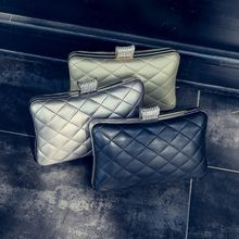Pandabada - Faux-Leather Quilted Cross Bag
