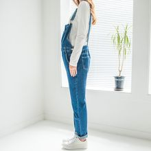 Yuki Ame - Maternity Denim Dungaree