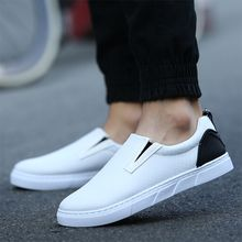 Preppy Boys - Faux-Leather Slip-Ons