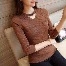 Romantica - Long-Sleeve Paneled Knit Top