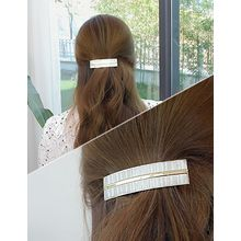 soo n soo - Metal-Trim Hair Barrette