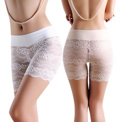 Charming Lover - Lace Boy Shorts