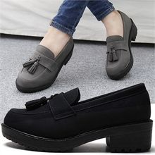 Reneve - Round-Toe Tasseled Loafers