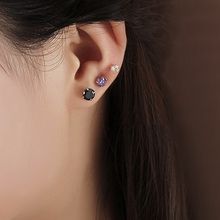 AINIAN - Rhinestone Stud Earrings