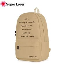SUPER LOVER - Lettering Backpack