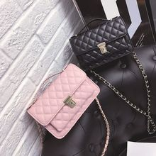 Beloved Bags - Quilted Chain Strap Crossbody Bag
