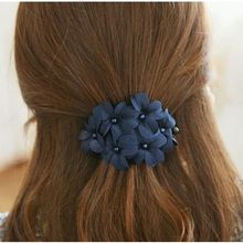 Gold Beam - Flower Banana Hair Clip