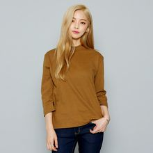 Envy Look - Mock-Neck 3/4-Sleeve T-Shirt