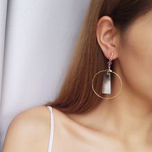 Jael - Ring Drop Earrings