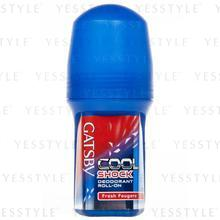 Mandom - Gatsby Cool Shock Deodorant Roll-On (Fresh Fougere)