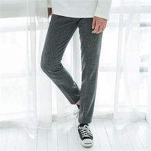STYLEMAN - Check-Pattern Dress Pants