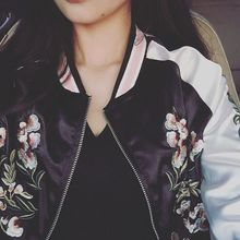 Moonshine - Embroidered Bomber Jacket