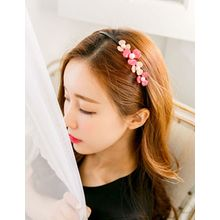 soo n soo - Faux-Pearl Flower Hair Band