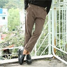 BYMONO - Belted Tapered Dress Pants