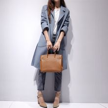Lavogo - Plain Wool Coat