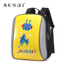 Ausqi - Kids Leather Printed Backpack