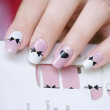 GEL NAILS - Bow Print Nail Wrap